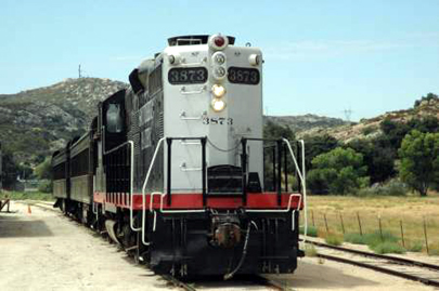 Golden State Excursion Train at Campo