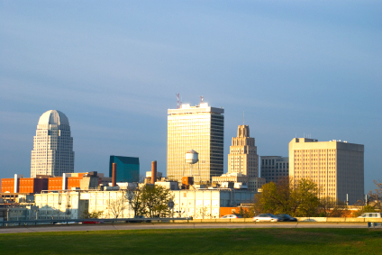Downtown Winston-Salem
