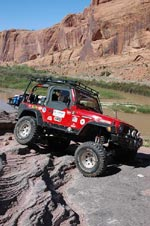 Jeeping the Moab Rim