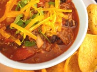 Chicken & Black Bean Chili