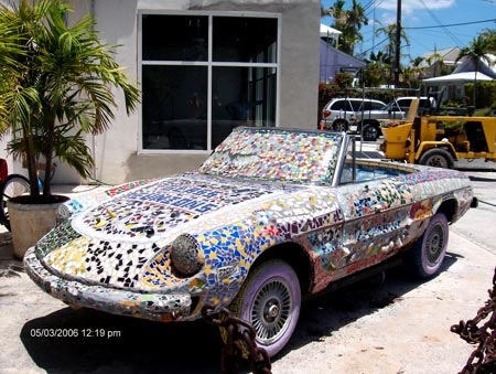 The Tile Car of Key West