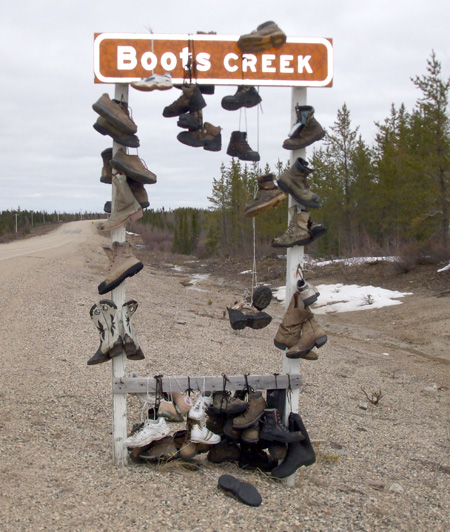 Boots Creek Sign 1