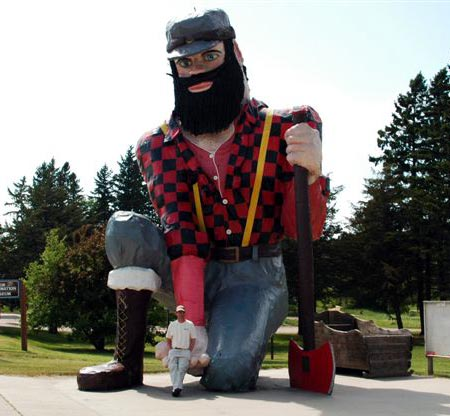 Akeley's Paul Bunyan