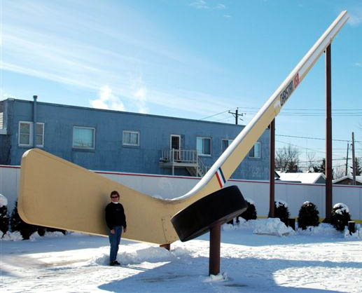 World's Largest Hockey Stick