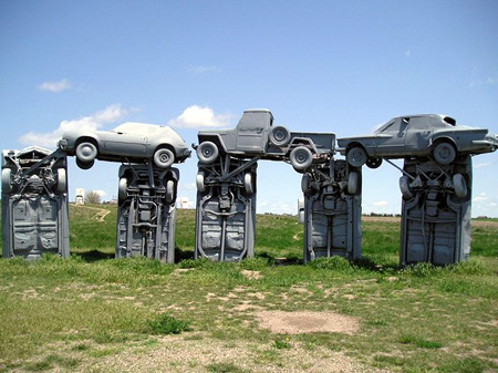 Carhenge near Alliance, Nebraska