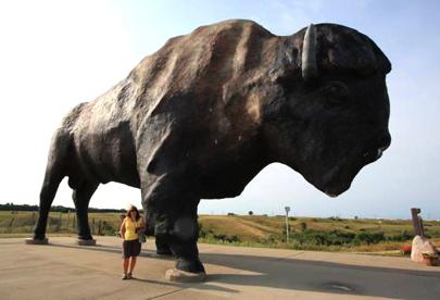 Fuel Estimate For Road Trip >> The Great American RoadTrip Forum - Fargo to Jamestown, North Dakota: The Roundabout Way