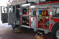 Ladder truck equipment