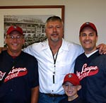 Ron Kittle with Glenn Dunlap & family