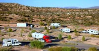 RVs in campground