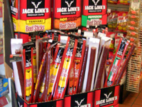 Beef jerky display