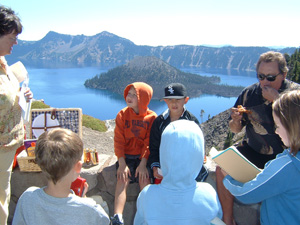 Crater Lake lunch