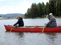 Canoeing Colorado